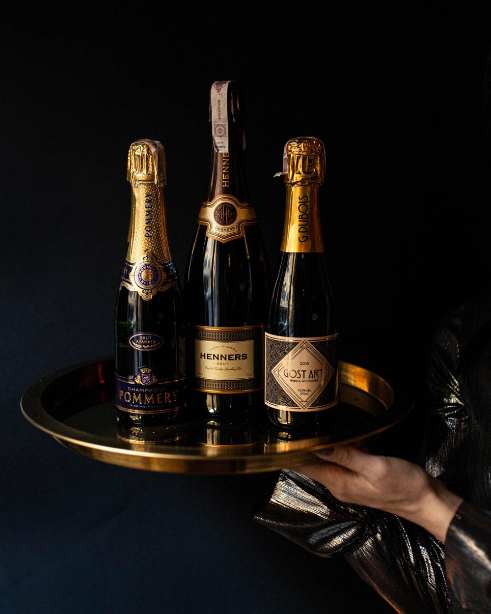 Wina musujące i szampany